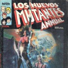 Cómics: LOS NUEVOS MUTANTES ESPECIAL PRIMAVERA 1987 FORUM.. Lote 199721963