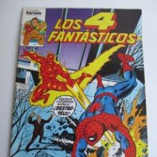 Cómics: 4 FANTASTICOS, LOS (1983, FORUM / PLANETA-DEAGOSTINI) 4 · IV-1983 · LOS 4 FANTASTICOS Nº 4. Lote 199756931