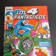 Cómics: 4 FANTASTICOS, LOS (1983, FORUM / PLANETA-DEAGOSTINI) 28 · IV-1985 · LOS 4 FANTASTICOS Nº 28. Lote 199806860