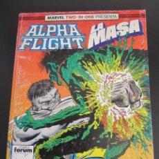 Cómics: FORUM RETAPADO ALPHA FLIGHT & LA MASA NUMEROS DEL 51 AL 54. Lote 199853498