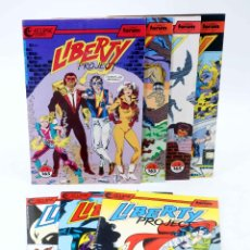 Comics: LIBERTY PROJECT 1 A 7. COLECCIÓN COMPLETA (KURT BUSIEK / JAMES W. FRY) FORUM, 1990. OFRT. Lote 199864261