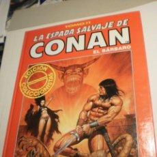 Cómics: CONAN EL BÁRBARO Nº 11 FORUM 1994 TAPA DURA B/N 64 PÁG EDICIÓN COLECCIONISTAS (SEMINUEVO). Lote 199885980