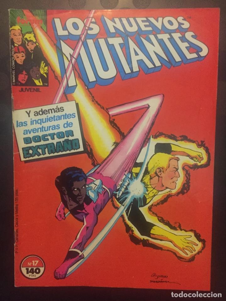 LOS NUEVOS MUTANTES VOL.1 N.17 Y LAS INQUIETANTES AVENTURAS DEL DOCTOR EXTRAÑO . ( 1987/1992 ). (Tebeos y Comics - Forum - Nuevos Mutantes)