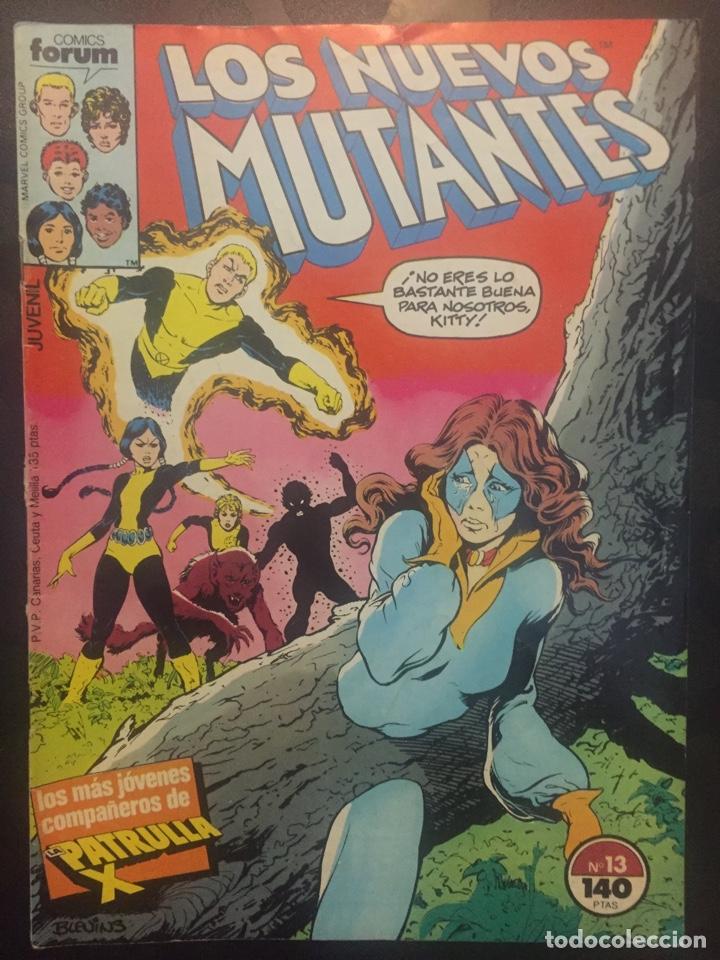 LOS NUEVOS MUTANTES VOL.1 N.13 Y LAS AVENTURAS DEL DOCTOR EXTRAÑO . ( 1987/1992 ). (Tebeos y Comics - Forum - Nuevos Mutantes)