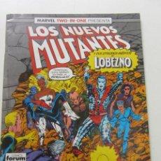 Comics : LOS NUEVOS MUTANTES VOL I Nº 45 LOBEZNO FORUM MUCHOS MAS A LA VENTA, MIRA TUS FALTAS CX51. Lote 199998165