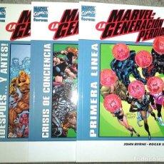 Comics : MARVEL: LA GENERACIÓN PERDIDA (3 NÚMEROS COMPLETA). Lote 200014733