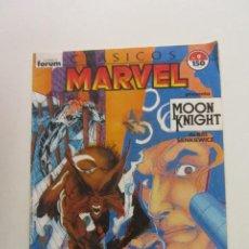 Fumetti: CLÁSICOS MARVEL Nº 9 - MOON KNIGHT (CABALLERO LUNA) - DOUG MOENCH & BILL SIENKIEWICZ FORUM CX51. Lote 200053650