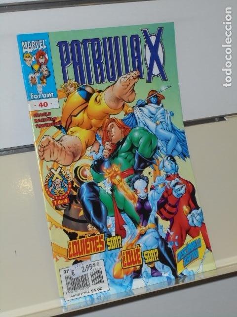 MARVEL PATRULLA X VOL. 2 Nº 40 - FORUM (Tebeos y Comics - Forum - Patrulla X)