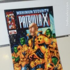 Cómics: MARVEL PATRULLA X VOL. 2 Nº 66 MAXIMUM SECURITY - FORUM. Lote 221883903