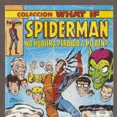 Cómics: WHAT IF VOL.1 - Nº 15 - ¿Y SI SPIDERMAN NO HUBIERA PERDIDO A TÍO BEN? - MAYO 1990 - FORUM -. Lote 200075876