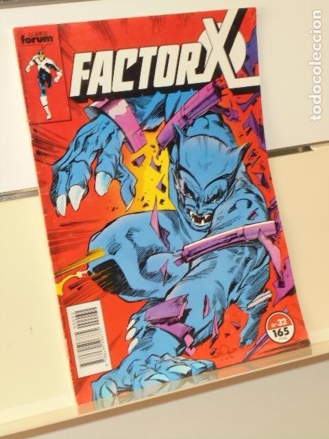 MARVEL COMICS FACTOR X VOL. 1 Nº 32 - FORUM (Tebeos y Comics - Forum - Factor X)