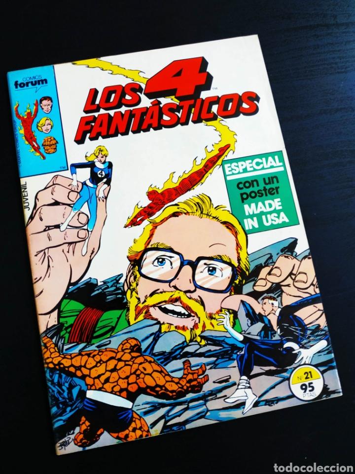 EXCELENTE ESTADO LOS 4 FANTASTICOS 21 FORUM (Tebeos y Comics - Forum - 4 Fantásticos)