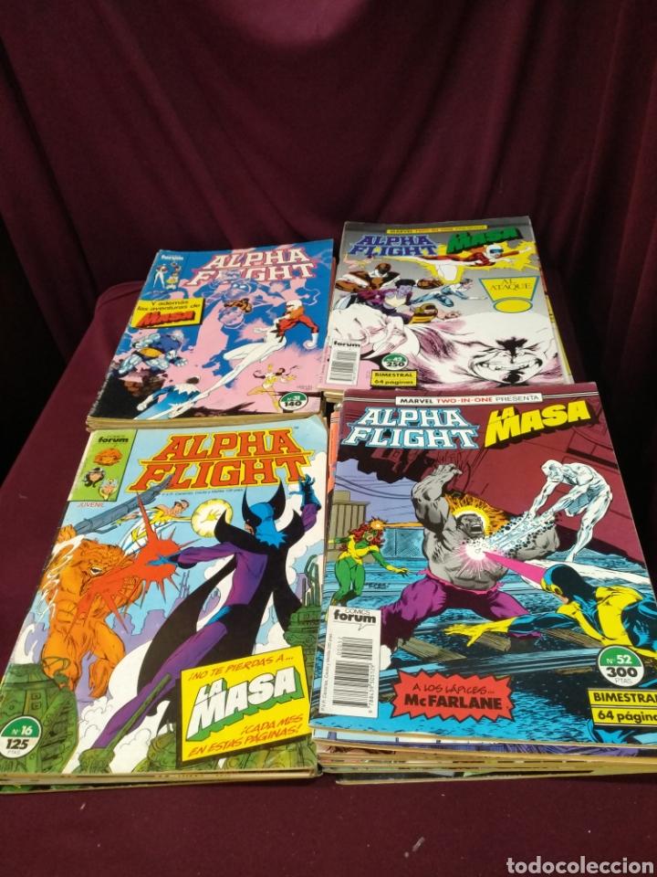 Cómics: Alpha flight, colección muy avanzada 42 numeros, forum - Foto 2 - 200337960