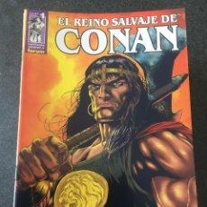 Cómics: EL REINO SALVAJE DE CONAN COMPLETA 40 NÚMEROS - FORUM - 2001 - ¡NUEVA!. Lote 200517808