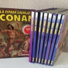 Cómics: SUPER CONAN 9 PRIMEROS TOMOS 2ª EDICIÓN - FORUM - 1989 - ¡NUEVOS!. Lote 200518447