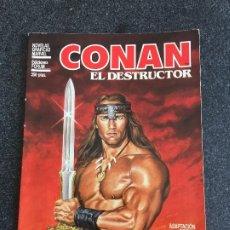 Cómics: CONAN EL DESTRUCTOR - ADAPTACIÓN OFICIAL DE LA PELÍCULA - FORUM - 1984 - ¡BUEN ESTADO!. Lote 200521278