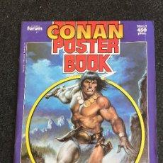 Cómics: CONAN POSTER BOOK Nº 1 - FORUM - 1992 - ¡NUEVO!. Lote 200574088