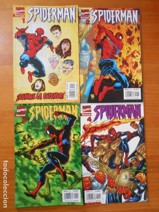 Cómics: SPIDERMAN VOLUMEN 5 COMPLETA - 31 NUMEROS - LOMO ROJO - MARVEL - FORUM (IC) - Foto 3 - 200610960