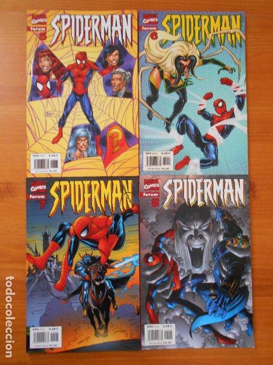 Cómics: SPIDERMAN VOLUMEN 5 COMPLETA - 31 NUMEROS - LOMO ROJO - MARVEL - FORUM (IC) - Foto 4 - 200610960