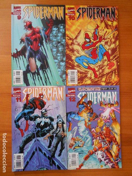 Cómics: SPIDERMAN VOLUMEN 5 COMPLETA - 31 NUMEROS - LOMO ROJO - MARVEL - FORUM (IC) - Foto 5 - 200610960