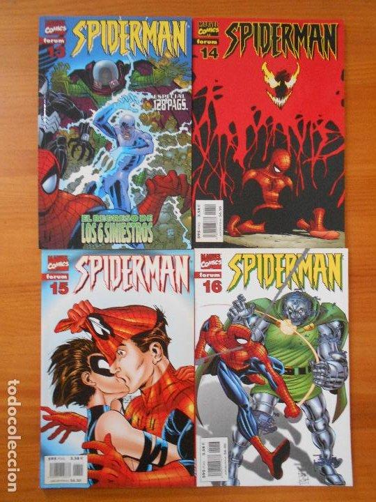 Cómics: SPIDERMAN VOLUMEN 5 COMPLETA - 31 NUMEROS - LOMO ROJO - MARVEL - FORUM (IC) - Foto 6 - 200610960