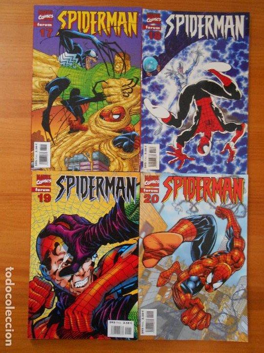 Cómics: SPIDERMAN VOLUMEN 5 COMPLETA - 31 NUMEROS - LOMO ROJO - MARVEL - FORUM (IC) - Foto 7 - 200610960