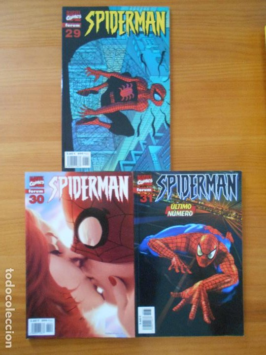 Cómics: SPIDERMAN VOLUMEN 5 COMPLETA - 31 NUMEROS - LOMO ROJO - MARVEL - FORUM (IC) - Foto 10 - 200610960