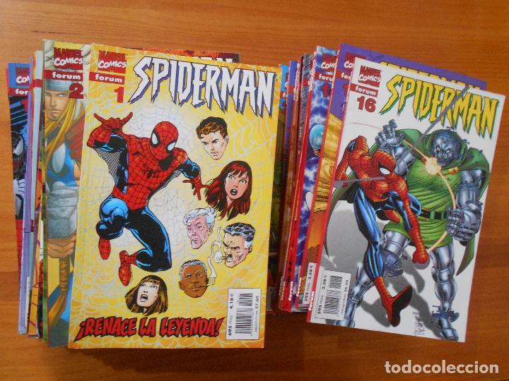 SPIDERMAN VOLUMEN 5 COMPLETA - 31 NUMEROS - LOMO ROJO - MARVEL - FORUM (IC) (Tebeos y Comics - Forum - Spiderman)