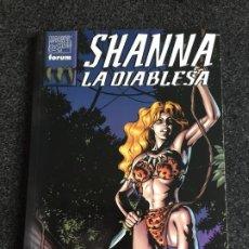 Cómics: SHANNA LA DIABLESA - NÚMERO ÚNICO - FORUM - 1998 - ¡NUEVO!. Lote 200800778