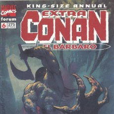 Cómics: EXTRA CONAN Nº6. KING-SIZE ANNUAL. FORUM, 1996. Lote 201155888