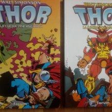 Comics: THOR. LA LUCHA POR ASGARD (WALT SIMONSON) - COMPLETA, 2 TOMOS. Lote 201222406