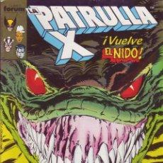 Cómics: LA PATRULLA X - ¡ VUELVE EL NIDO ! Nº82 - COMICS FORUM AÑO 1988. Lote 201325002