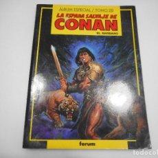 Cómics: LA ESPADA SALVAJE DE CONAN EL BÁRBARO. ALBUM ESPECIAL TOMO 28 Q335W. Lote 201497010
