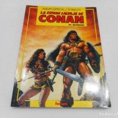 Cómics: LA ESPADA SALVAJE DE CONAN EL BÁRBARO. ALBUM ESPECIAL TOMO 23 Q337W. Lote 201497221