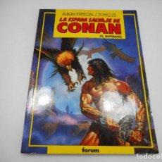 Cómics: LA ESPADA SALVAJE DE CONAN EL BÁRBARO. ALBUM ESPECIAL TOMO 25 Q338W. Lote 201497505
