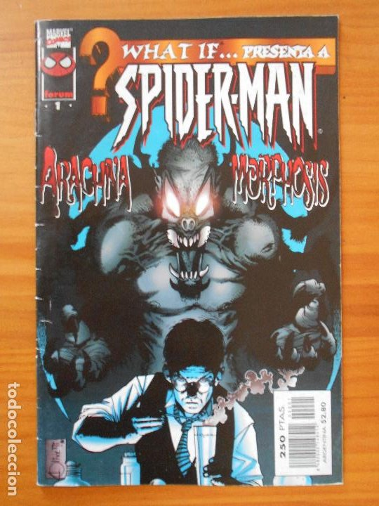 WHAT IF VOLUMEN 2 Nº 1 - SPIDER-MAN - MARVEL - FORUM (8I) (Tebeos y Comics - Forum - Spiderman)