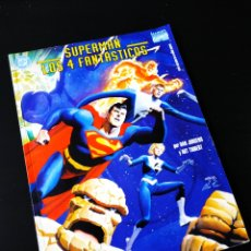 Cómics: SUPERMAN LOS 4 FANTASTICOS FORUM GRAN TAMAÑO. Lote 201598430
