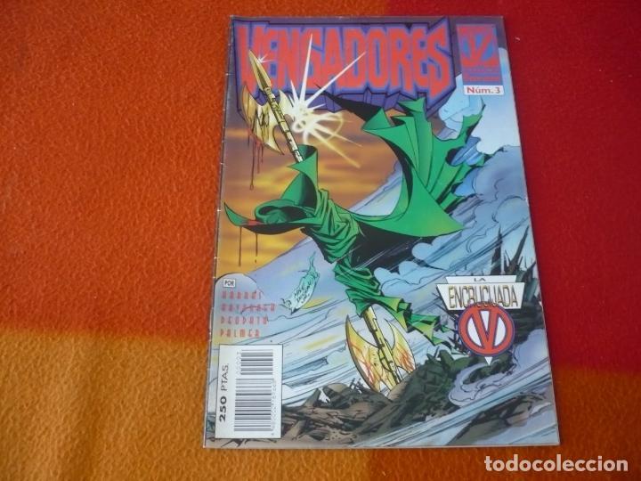 LOS VENGADORES VOL. 2 Nº 3 ( DEODATO ) ¡BUEN ESTADO! FORUM MARVEL (Tebeos y Comics - Forum - Vengadores)