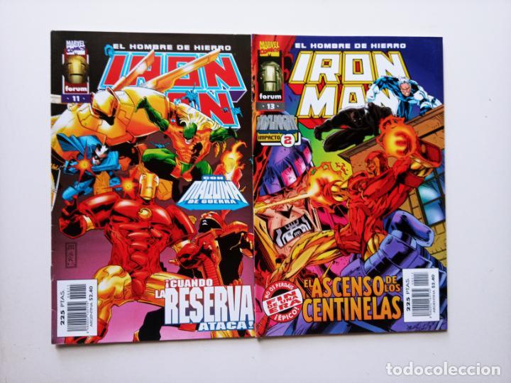 IRON MAN EL HOMBRE DE HIERRO FORUM Nº 11 Y 13 (Tebeos y Comics - Forum - Iron Man)