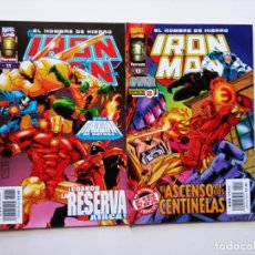 Cómics: IRON MAN EL HOMBRE DE HIERRO FORUM Nº 11 Y 13. Lote 243786500