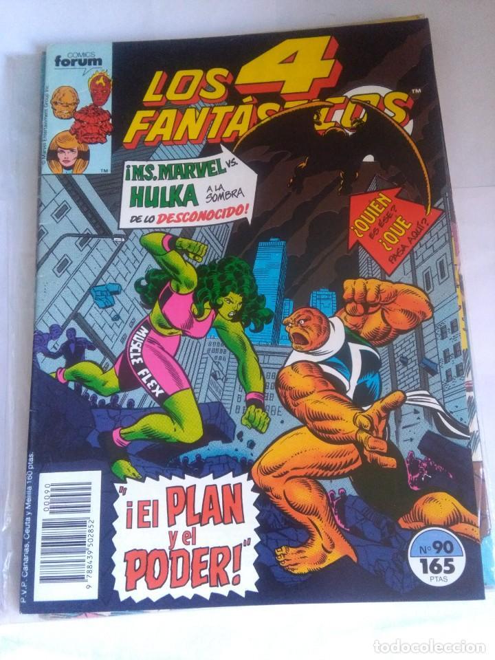 LOS 4 FANTÁSTICOS 90 (Tebeos y Comics - Forum - 4 Fantásticos)