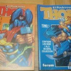 Cómics: THOR, EL PODEROSO VOL.3/4 --- PLANETA 1999 --- 2 PRIMEROS TOMOS ( 10 NÚMEROS). Lote 198954608