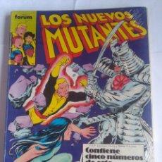 Cómics: LOS NUEVOS MUTANTES PRIMEROS 5 NÚMEROS FORUM. Lote 202106213