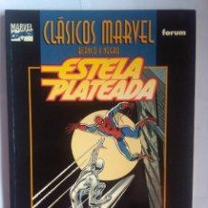 Cómics: CLÁSICOS MARVEL BLANCO Y NEGRO ESTELA PLATEADA. Lote 202111026