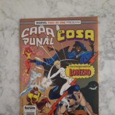 Comics: MARVEL TWO-IN-ONE - CAPA Y PUÑAL & LA COSA Nº 19. Lote 202279086