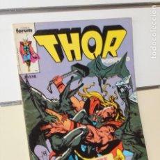Comics: MARVEL THOR EL PODEROSO VOL. 1 Nº 21 - FORUM. Lote 202349648