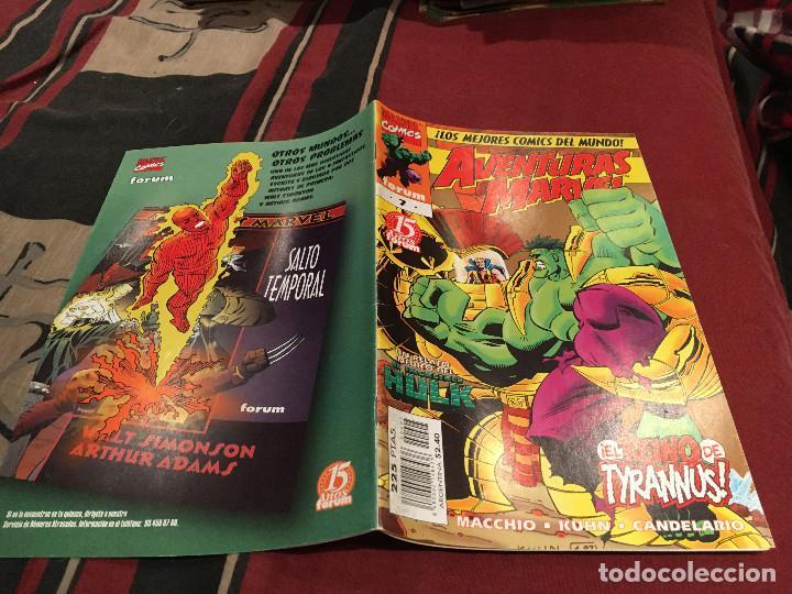 AVENTURAS MARVEL 7 - UN RELATO INEDITO DEL INCREIBLE HULK FORUM (Tebeos y Comics - Forum - Hulk)