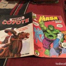 Cómics: LA MASA EL INCREIBLE HULK - VOL1 - Nº8 - FORUM. Lote 202354130
