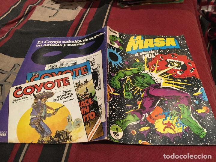 LA MASA EL INCREIBLE HULK - VOL1 - Nº11 - FORUM (Tebeos y Comics - Forum - Hulk)