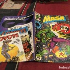 Cómics: LA MASA EL INCREIBLE HULK - VOL1 - Nº11 - FORUM. Lote 202356927